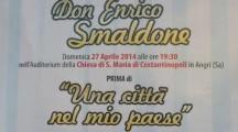 """""""Una città nel mio paese"""": presentazione della commedia su Don Enrico Smaldone"""
