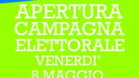 """Apertura campagna elettorale. Cosimo Ferraioli: """"Insieme come una grande famiglia verso un reale progetto di cambiamento""""."""