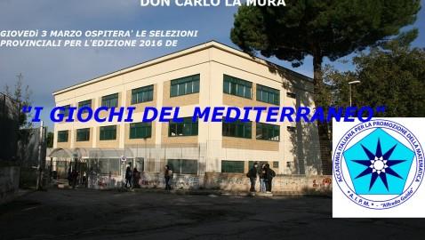 Il Liceo La Mura protagonista: ospita i Giochi del Mediterraneo