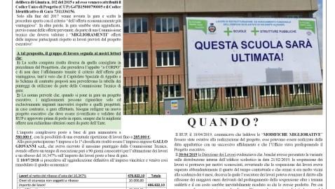 """La scuola INCOMPIUTA di via Dante Alighieri. LA """"FABBRICA"""" di S. PIETRO E… COSIMO"""