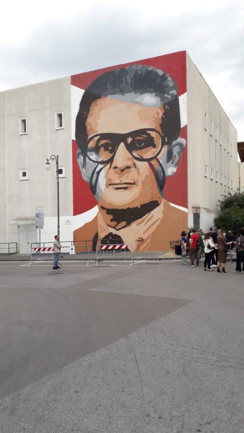 MURALE DEDICATO A PAGANI AL SINDACO MARCELLO TORRE ASSASSINATO DALLA CAMORRA NEL 1980