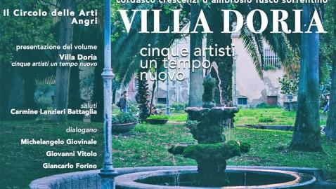 """Presentazione del volume """"Villa Doria – cinque artisti, un tempo nuovo"""""""